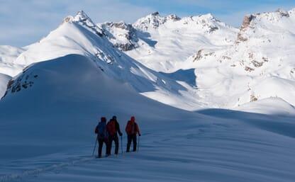 Schneeschuhtouren in Bivio 4+1