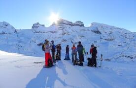 Schneeschuhtouren Engstlenalp 4+1