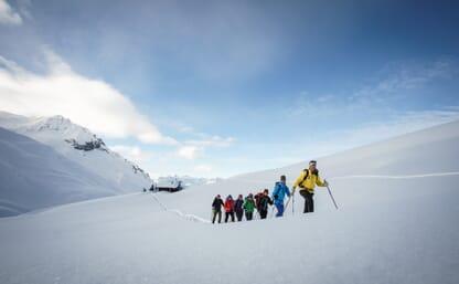 Schneeschuhtour Mattjisch Horn 2461m