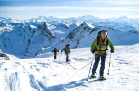 Schneeschuhtour Berner Oberländer Haute Route