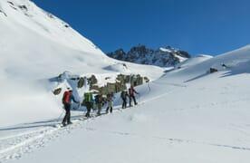 Schneeschuhtour Bündner Haute Route