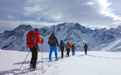 Schneeschuhtour Walliser Haute Route