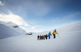 Schneeschuhtour Mattjisch Horn 2461m Spezial