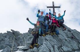 Schnupperkurs Bergsteigen (Firn/Eis) in Saas Fee