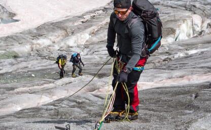 Grundkurs Bergsteigen (Fels/Firn/Eis) im Turtmanntal