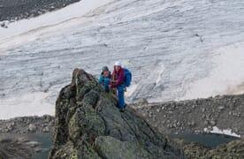 Aufbaukurs Bergsteigen (Fels/Firn/Eis) im Orny-Trient