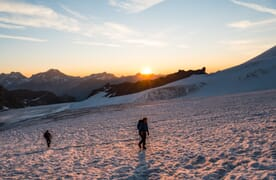 Hochtour Allalinhorn 4027m - Strahlhorn 4190m