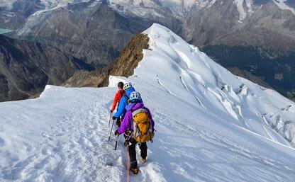 Hochtour Weissmies 4017m – Lagginhorn 4010m