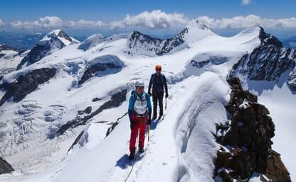Hochtouren im Bernina Massiv