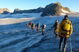 Familien-Gletschertrekking Planurahütte