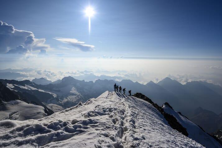 Pioniertour: Rund um die Monte Rosa Highlights