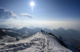 NEU: Gletschertrekking rund um die Monte Rosa