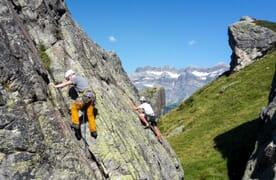 Kletterkurs Klettergarten Mettmenalp