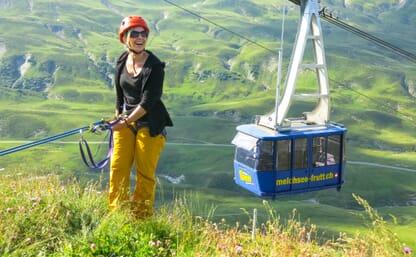 Kletterkurs Klettergarten Melchsee Frutt