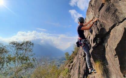 Kletterkurs Klettergarten Tessin