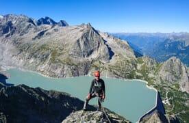 Kletterkurs Mehrseillängen Bergell
