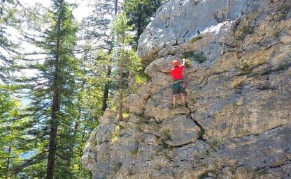 Schnupperkurs Felsklettern in Meiringen