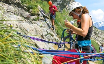 Kletterkurs für Familien Melchsee-Frutt