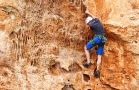 "Klettern Kalymnos mit Techniktraining ""2plus!"""