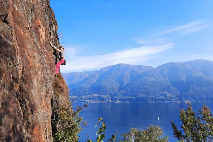 Kletterferien Tessin Herbst 2020 Highlights