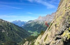 TRANSA Kletterweekend Flims-Laax-Falera