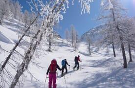 NahReise: Skitouren im Valle Maira