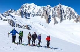 NahReise: Skitouren im Mt. Blanc Massiv
