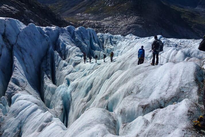 Einmal über den Grossen Aletschgletscher trekken Highlights
